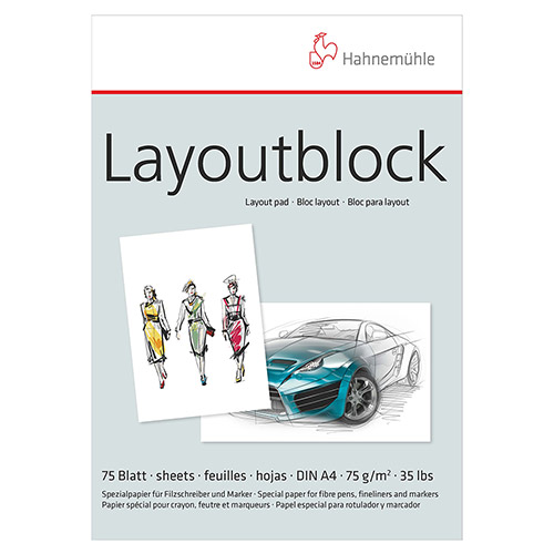 Blok Hahnemuhle layout do markerów 75g 75ark