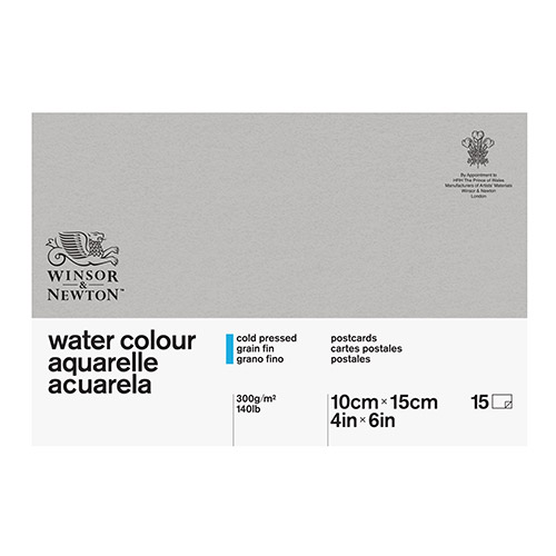 Watercolor block Winsor & Newton 10,2x15,2cm 300g 15 ark
