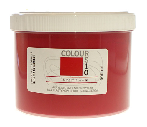 Acryliс paints Renesans Colours - jar 500 ml