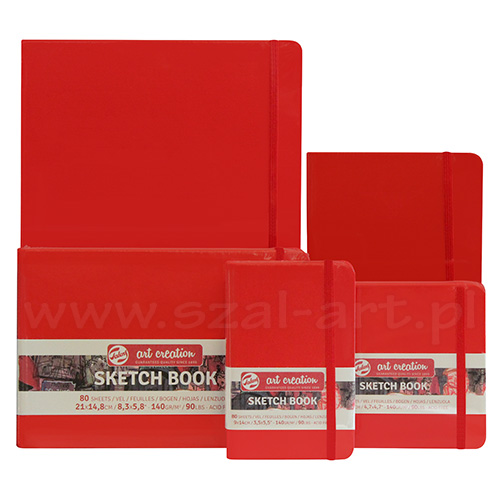 Szkicownik Art Creation sketch red