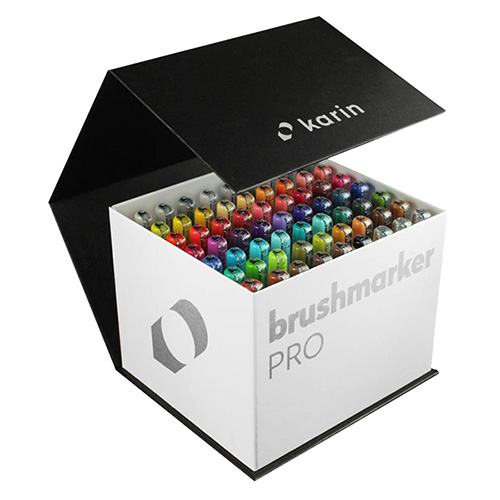 BrushmarkerPro Karin set of 60 MegaBox markers