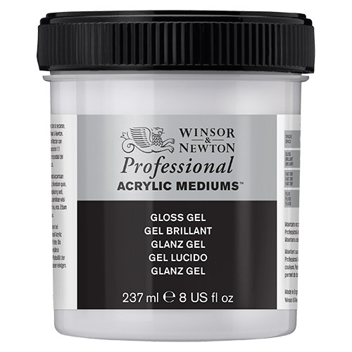 Winsor&Newton medium glossy gel 237ml