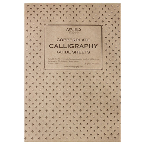Blok Archie's calligraphy copperplate 6-4-6 120g 50ark