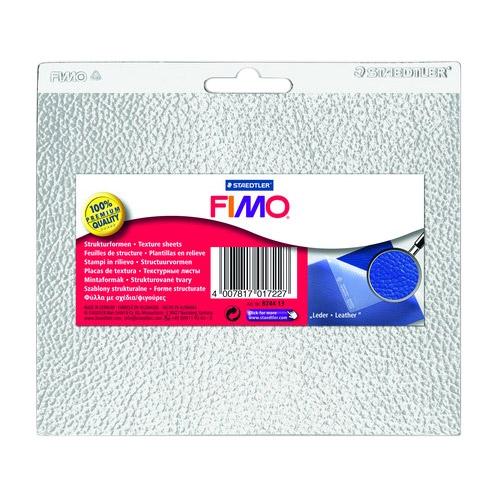 Fimo structural sheets - leather