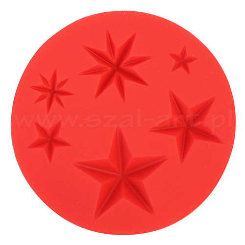 Silicone molds Fimo - stars