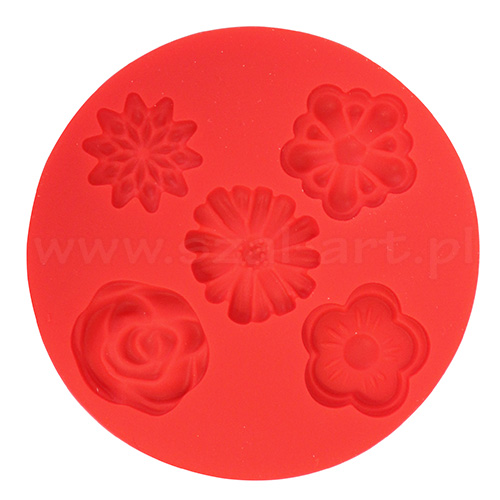 Silicone molds Fimo - flowers