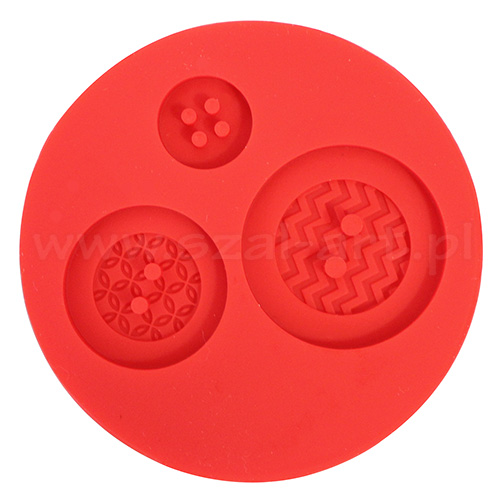 Silicone molds Fimo - buttons