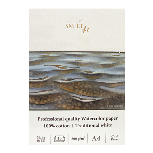 Block SM-LT art watercolor pad 300g 10ark