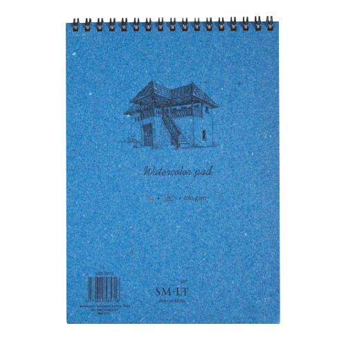 Block SM-LT Watercolor Pad 280g spiral
