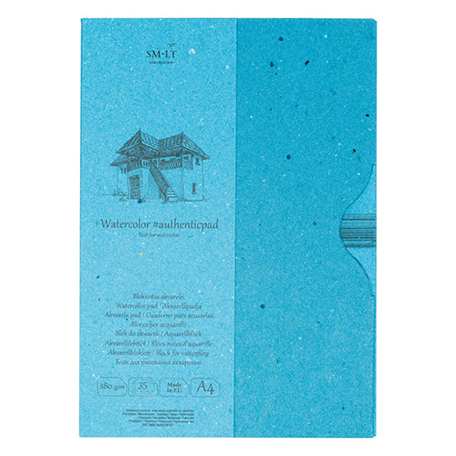 Blok SM-LT watercolor pad A4 280g 35ark etui