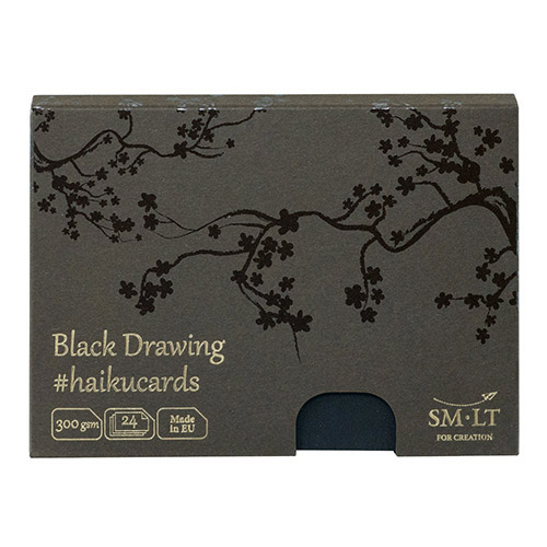 Haiku SM-LT black drawing kartki w pudełku 300g 24ark