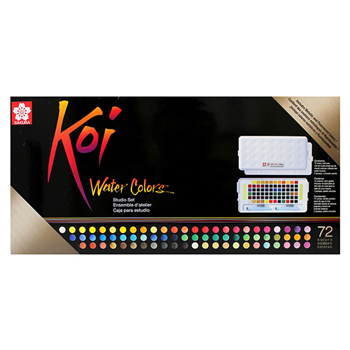 Sakura koi water colors set of 72 watercolors