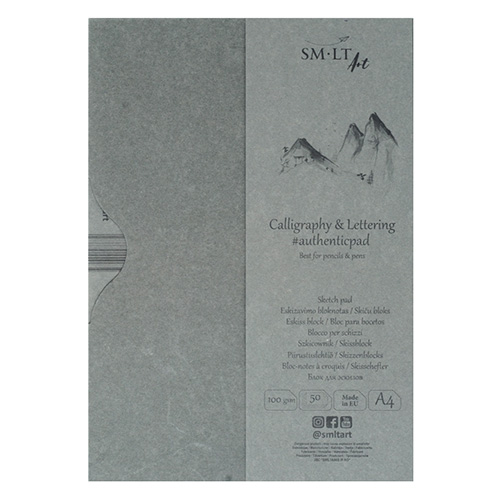 SM-LT sketchpad calligraphy & lettering A4 100g 50ark case