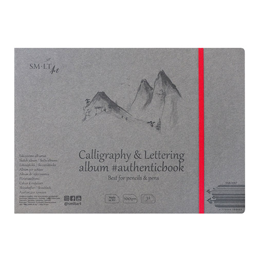 Sketchpad SM-LT calligraphy & lettering with elastic band 175x24
