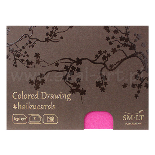 Haiku SM-LT colored drawing cards in a box 630g 11ark