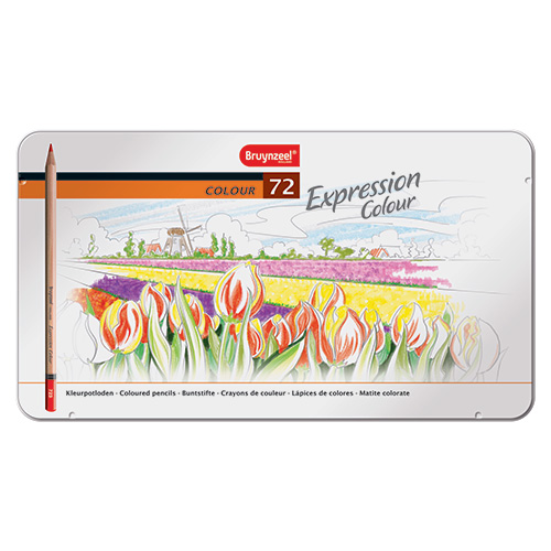 Bruynzeel expression color set of 72 colored pencils