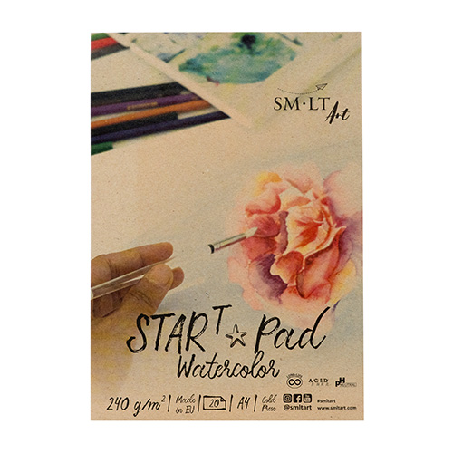 SM-LT block art start pad watercolor 240g 20 sheets