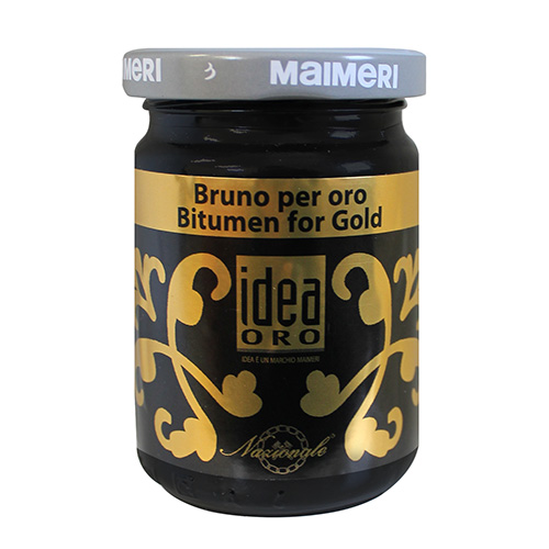 Maimeri idea oro bitumen do złota kolor brunatny 125ml