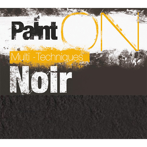 Clairefontaine paint on noir 50x65 250g 10 sheets ryza