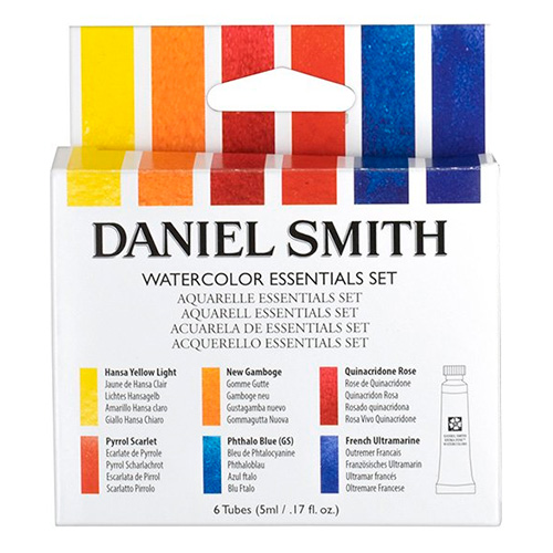 Daniel Smith essential akwarele 6x5ml tuba