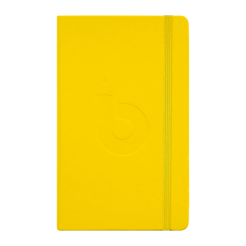 Szkicownik Bruynzeel bullet journal yellow 13x21cm 140g 80ark