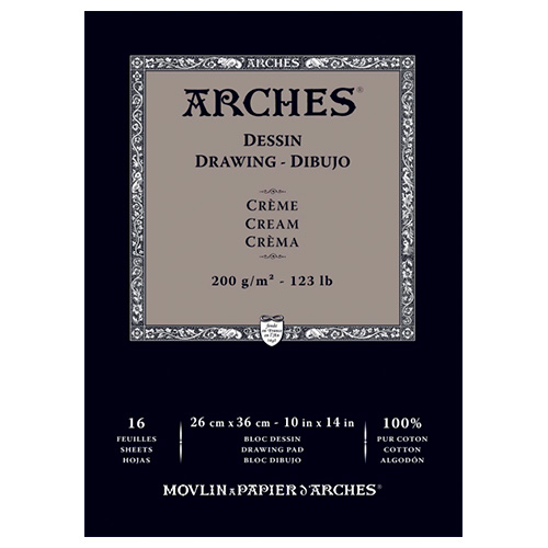 Blok Arches drawing cream 200g 16 arkuszy